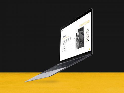 branding v2 website