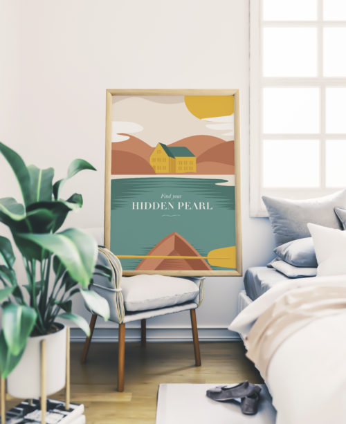 poster your sea home